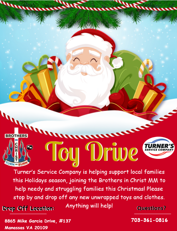 toy drive flyer 2020