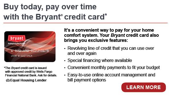 bryant learn more HVAC financing manassas va